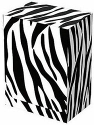 CASE OF 15 LEGION ZEBRA DECK BOX FITS 100 SINGLE SLEEVED CARDS MTG POKEMON