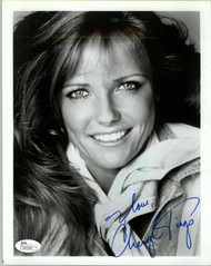 CHERYL TIEGS, ACTRESS SIGNED 8X10 JSA AUTHENTICATED COA #N45548