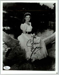 COLEEN GRAY, ACTRESS (DECEASED) SIGNED 8X10 JSA AUTHENTICATED COA #N44579