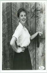 COLEEN GRAY, ACTRESS (DECEASED) SIGNED 8X10 JSA AUTHENTICATED COA #P41620