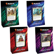 Commander 2019 Case-- Set of 4 Decks -- English -- MTG Magic