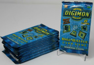 Digimon Trading Card Game Series 1 Digi-Battle 8 Card Pack 15 Pack Lot