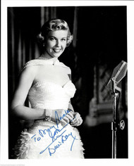 DORIS DAY (DECEASED) SIGNED 8X10 INSCRIBED JSA AUTHENTICATED COA #N38877