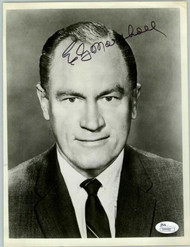 E.G. MARSHALL ACTOR, (DECEASED) AUTOGRAPHED SIGNED 8X10 JSA COA #N44400