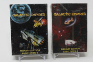 GALACTIC EMPIRES PRIMARY EDITION BASIC DECK A AND B FACTORY SEALED