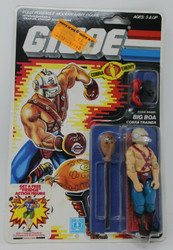 GI JOE - 1986 BIG BOA Cobra Enemy Hasbro Factory Sealed