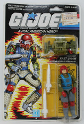 GI JOE - 1986 Fast Draw Missle Specialist ARAH Hasbro Factory Sealed