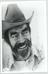 JACK ELAM, ACTOR (DECEASED) SIGNED INSCRIBED 8X10 JSA AUTHENTICATED P41595