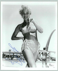 JANE POWELL ACTRESS, IN SWIMSUIT SIGNED 8X10 JSA AUTHENTICATED COA #N44452