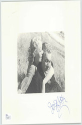 JOSEPH COTTON (DECEASED) SIGNED INSCRIBED 8X10 PHOTO JSA COA #P41573
