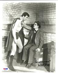 KIRK ALYN 1ST SUPERMAN IN FILM PSA/DNA SIGNED 8X10 PHOTO JIMMY OLSEN