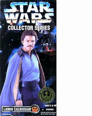 Lando Calrissian 12 inch figure Kenner 1996 Star Wars Collector Series NRFB