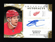 Madison Bowey 2019-20 Upper Deck Artifacts Hockey Auto