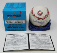 Matt Williams Hidden Authentics Signed Baseball #43/94