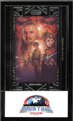 Movie Poster Patch Queen Amidala Star Wars Topps The Phantom Menace Ma-PA