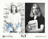 "NATASHA RICHARDSON AUTOGRAPHED SIGNED 8X10 B&W PRESS PHOTO ""NELL"" DECEASED"