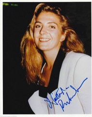 NATASHA RICHARDSON AUTOGRAPHED SIGNED 8X10 PRESS PHOTO IN WHITE DECEASED