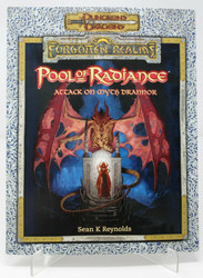 Pool of Radiance Attack on Myth Drannor Forgotten Realms Adventure Book D&D