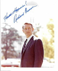 RICHARD CRENNA (DECEASED) STUDIO PHOTO SIGNED 8X10 JSA COA #N38828
