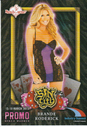 Sin City Bench Warmers Promo 4 Card Set Las Vegas 2015