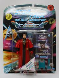 Star Trek Q in Judge Robes & Lieutenant Commander Geordi LaForge Action Figures