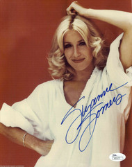 SUZANNE SOMERS ACTRESS, SIGNED 8X10 PLAYBOY JSA AUTHENTICATED COA #N50177