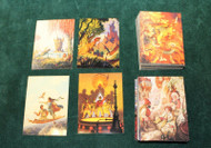 TIM HILDEBRANDT'S FLIGHT AND FANTASY COMPLETE SET 1-90 LOT ( 2 SETS)