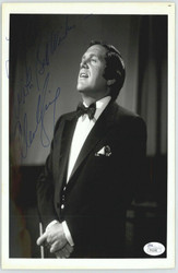 ALAN KING ACTOR COMEDIAN DECEASED) SIGNED INSCRIBED 8X10 JSA AUTHEN COA #P41648