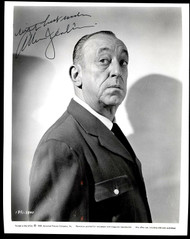 ALLEN JENKINS (DECEASED) ACTOR 8X10 SIGNED INSCRIBED JSA AUTHEN. COA #Y78147