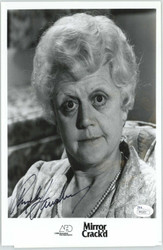 ANGELA LANSBURY ACTRESS, SIGNED 8X10 JSA AUTHENTICATED COA #P41653