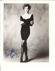 ANNETTE BENING BLACK DRESS SIGNED PHOTO AUTOGRAPHED W/COA 8X10