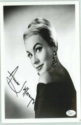 "ANNE JEFFREYS ACTRESS ""TOPPER"" SIGNED 8X10 JSA AUTHENTICATED COA #P41636"