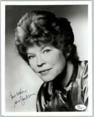 ANNE JACKSON (DECEASED) SIGNED 8X10 JSA AUTHENTICATED COA #N44662