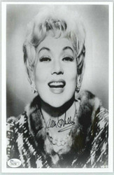 ANN SOTHERN ACTRESS (DECEASED) 8X10 JSA AUTHENTICATED COA #P41738