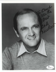 BOB NEWHART, ACTOR AND COMEDIAN 8X10 1982 SIGNED JSA COA #R66787