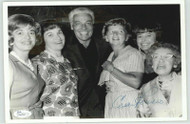 CESAR ROMERO ACTOR (DECEASED) SIGNED 8X10 JSA AUTHENTICATED COA P41722