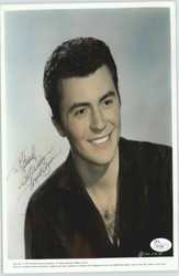 JAMES DARREN TEEN IDOL AUTOGRAPHED SIGNED 8X10 JSA AUTHENTICATED COA #P41584