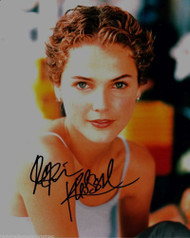 KERI RUSSELL AUTOGRAPHED SIGNED 8X10 PUBLICITY PHOTO CLOSE UP WITH COA