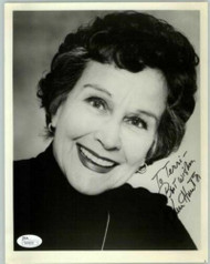 KIM HUNTER (DECEASED) SIGNED 8X10 OSCAR WINNER AUTHENTICATED JSA #N44659
