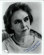 "LILLIAN GISH (DECEASED) SIGNED 8X10 ""GREATEST ACTRESS"" INSCRIBED JSA #N44574"