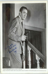 MACDONALD CAREY DECEASED AUTOGRAPHED SIGNED 8X10 JSA AUTHENTICATED COA #P41564