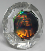 3-D Arts Darth Vader Hologram set in Diamond Shaped Display!