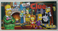 Sealed The Simpsons Clue Board Game, Pewter Weapons and Suspects pub:2000 Hasbro