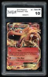 Charizard EX - XY Flashfire - Ultra Rare - 11/106 - Pokémon TCG MGA 10 #4454274