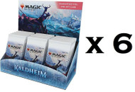 6 Kaldheim Set Booster Boxes in a Factory Sealed Case MTG Magic the Gathering