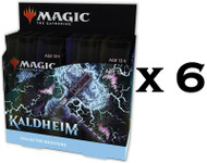 Kaldheim Factory Sealed 6 Collector Booster Box Case MTG Magic the Gathering