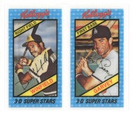 1980's Kellogg's NM/M Winfield & Steve Garvey Perforations Unbroken