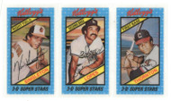 1980's Kellogg's NM/M Singleton & Lopes & Thornton Perforations Unbroken