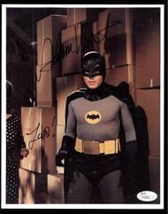 "ADAM WEST ""BATMAN"" SIGNED 8X10 PROMO PHOTO JSA AUTHENTICATED COA #P41831"