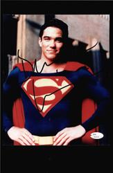 DEAN CAIN AS SUPERMAN SIGNED 8X10 JSA AUTHENTICATED JSA COA ##N50214